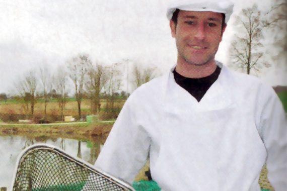 Tobias Wagner vom Altstädter Fischteich in Münzenberg Gambach